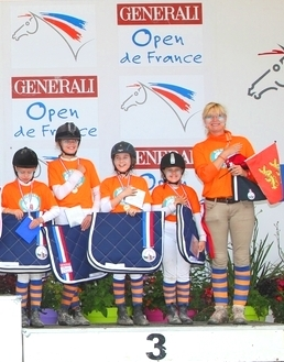 PODIUM DU BARREL RACE